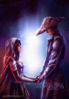 [cm] Serenity and Raiden by Axsens