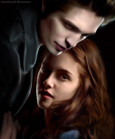 Twilight Digital Painting by itsreality