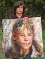 Portrait of Jaycee Lee Dugard by johnpaulthornton