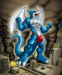 GODZILLA ? lol ah ITS GIANT XB by X-Buimon-Sama