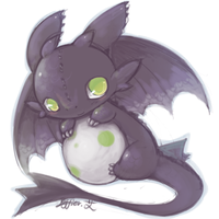 toothless by Effier-sxy