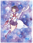 Sailor Saturn by Fabinne