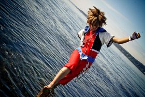 Kingdom Hearts: Walk on Water by Ai-rika