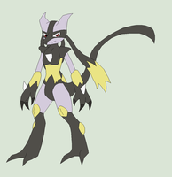 Pokemon Fusions Base 4~Lukewra~ by Xbox-DS-Gameboy