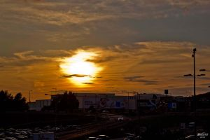 Sunshine in city by Solco90