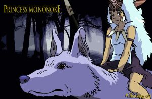 Princess Mononoke by AndyPritchard