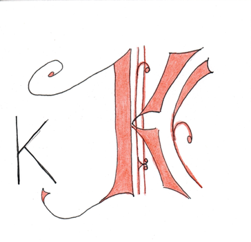 Lettera K by Lucille95