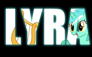 Wallpaper -  Lyra by Atomickasskicker