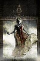 Silent Hill book4 panel by menton3