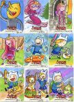 Algebraeic! Adventure Time Sketch Cards by artyewok