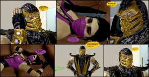 Mileena's Party part 3 by Texmoder