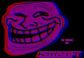 Troll Face 3d by CsioSoft