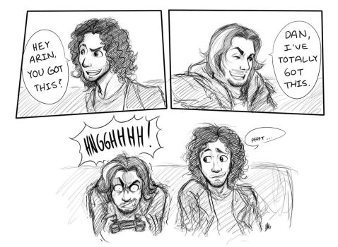 And We're the Game Grumps! by Smudgeandfrank