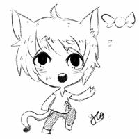 Chibi Sketch Comm 2 by Yu-Tanni