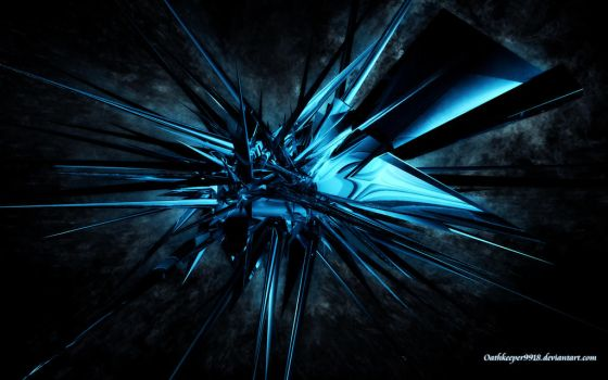 Blue C4D wallpaper by oathkeeper9918