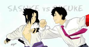 Which Sasuke will win? by Laina7