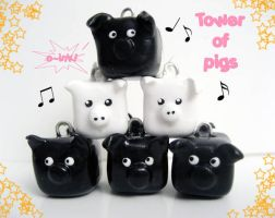 Tower of Pigs by mAd-ArIsToCrAt