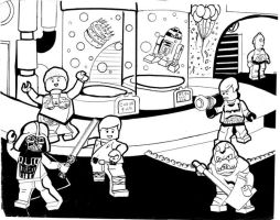 Cantina Party by jdoem