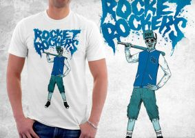 Rocket Rockers T-shirt by tremorizer