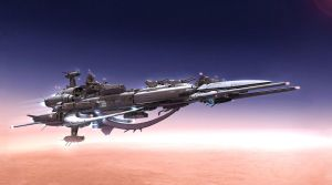 [HD] Space battle cruiser (latest version) by KungKungK