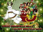 Merry Xmas 2014 & A Happy New Year 2015 by IllusionEvenstar