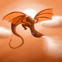 [Cassamara] Air Dragon by AlexisDragonStorm