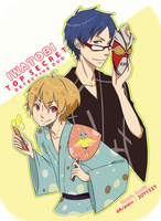 fa: Free! / Iwatobi Detectives! by 7-8jf