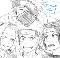 Thank You - Naruto Doodle by chi-tokiyo