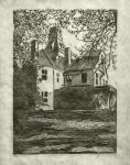Mansion Etching by azureshadow
