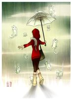 raining cats and dogs by adoration