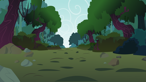 Everfree Forest Path by RainbowRage12