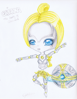 LoL: Orianna Chibi :NEW: by iEmme