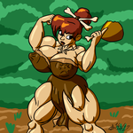 Cave Girl Cook by ArchangelDreadnought
