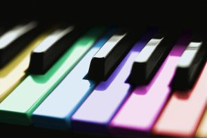 Music is Colourful by JeliKa
