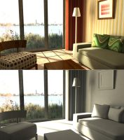 Lighting Project - Living Room by LuckySquid