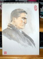 Person of Interest 20120708 JIM CAVIEZEL by appleFei