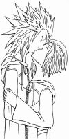 AkuZeku - kiss by fanfiction-fanatic
