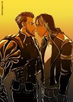 Deus Ex: the First Kiss by maXKennedy