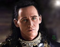 Loki - The Dark World XV by AdmiralDeMoy