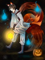 :APH: Happy Halloween by Inupii