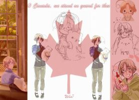 Canada Wallpaper by LadyKnightOfHollyros