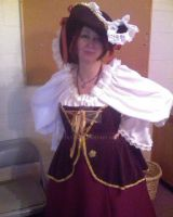 Another reconstructed costume. pirate by ESTilton