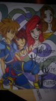 Day 4: Kingdom Hearts Friends:) by AniCreeations