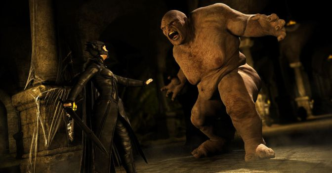 Ogre Stand Off by DAZ-3D