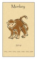 Year of the Monkey by Inuibuki