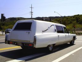Grim Reapers Cadillac hearse by Partywave