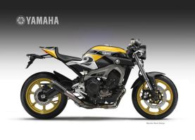 YAMAHA MT-09 FASTER SON  KENNY by obiboi