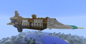 Minecraft - Excelsior-Class Grand Cruiser by Kerian-halcyon