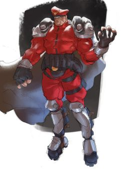 M. Bison! by Ramonn90