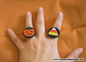 halloween rings by SongThread